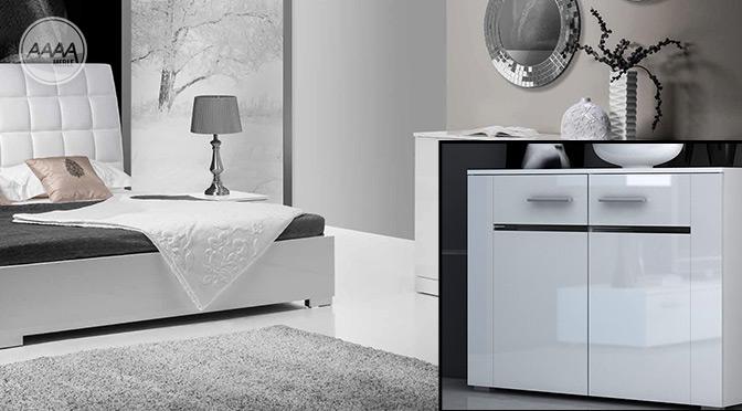 Białe meble w sypialni – jaki kolor ścian wybrać?