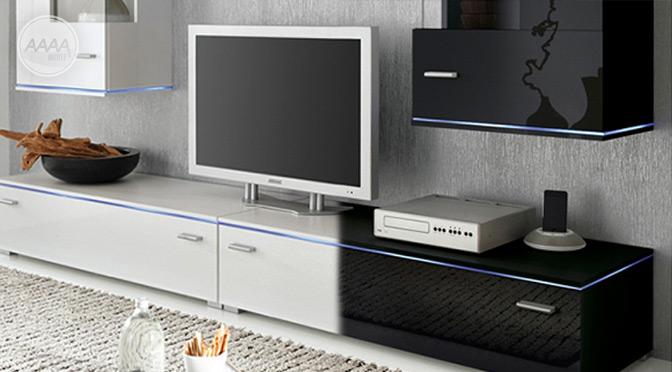 Stolik pod TV z podświetleniem