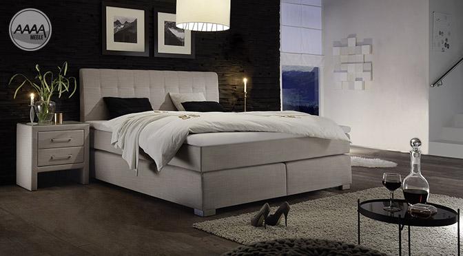 Łóżka kontynentalne z 7-sterfowym materacem