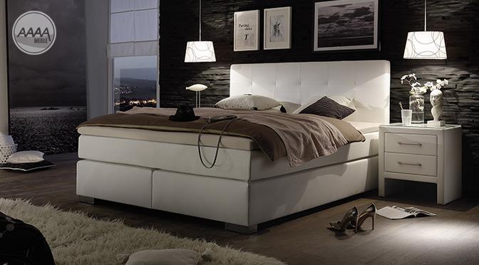 Nowoczesne, eksluzywne łóżka kontynentalne