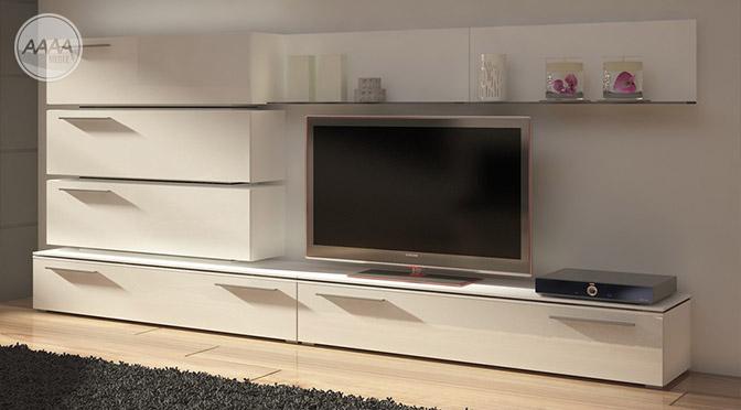 Meble do minimalistycznie urządzonego salonu
