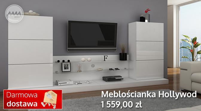Białe meble pokojowe