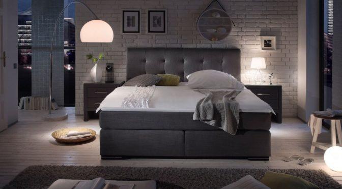 Postaw na ponadczasowy design łóżek boxspring